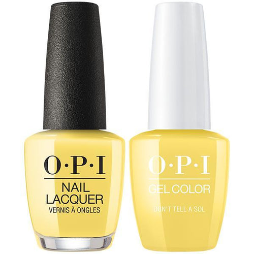 OPI - Gel & Lacquer Combo - Don't Tell A Sol