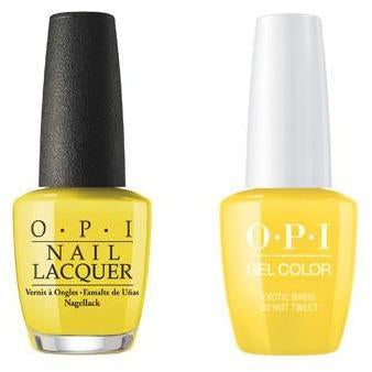 OPI - Gel & Lacquer Combo - Exotic Birds Do Not Tweet