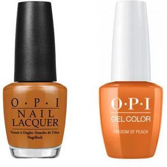 OPI - Gel & Lacquer Combo - Freedom of Peach