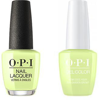 OPI - Gel & Lacquer Combo - How Does Your Zen Garden Grow?