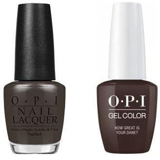 OPI - Gel & Lacquer Combo - How Great Is Your Dane?