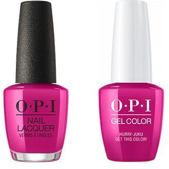 OPI - Gel & Lacquer Combo - Hurry-juku Get this Color!
