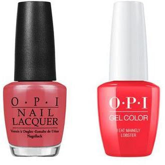 OPI - Gel & Lacquer Combo - I Eat Mainely Lobster