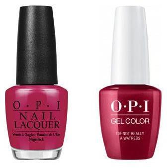 OPI - Gel & Lacquer Combo - I'm Not Really a Waitress