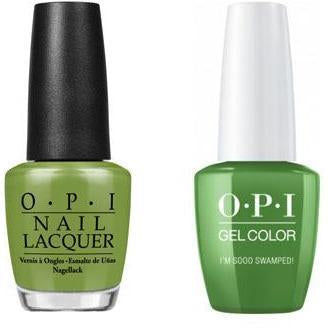 OPI - Gel & Lacquer Combo - I'm Sooo Swamped!