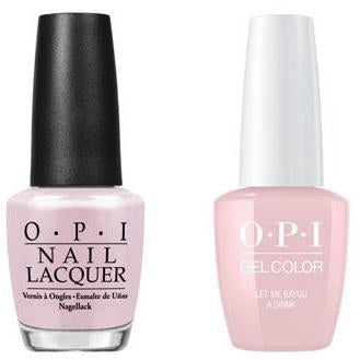 OPI - Gel & Lacquer Combo - Let Me Bayou a Drink