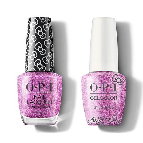 OPI - Gel & Lacquer Combo - Let's Celebrate!