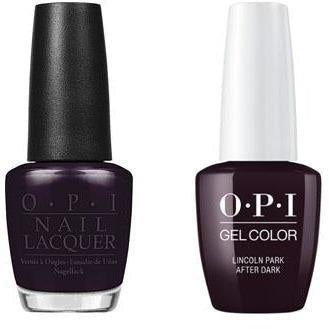 OPI - Gel & Lacquer Combo - Lincoln Park After Dark