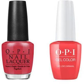 OPI - Gel & Lacquer Combo - Live.Love.Carnaval