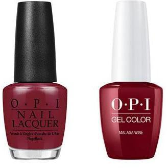 OPI - Gel & Lacquer Combo - Malaga Wine