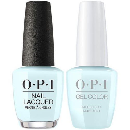 OPI - Gel & Lacquer Combo - Mexico City Move-mint