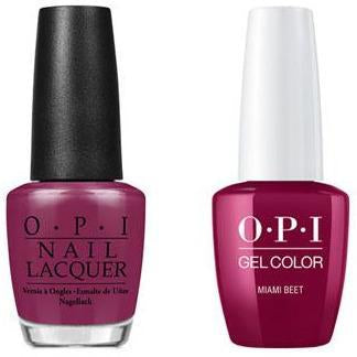 OPI - Gel & Lacquer Combo - Miami Beet