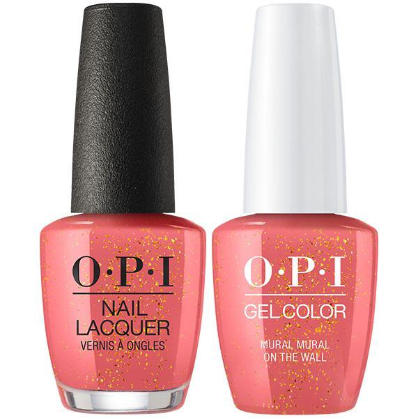 OPI - Gel & Lacquer Combo - Mural Mural On The Wall