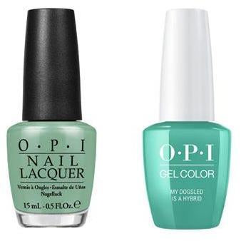 OPI - Gel & Lacquer Combo - My Dogsled is a Hybrid
