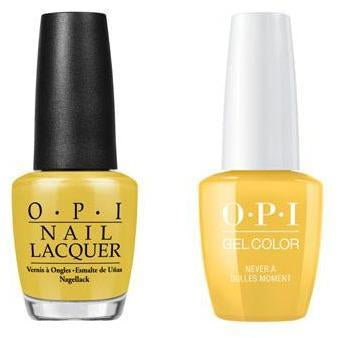 OPI - Gel & Lacquer Combo - Never a Dulles Moment