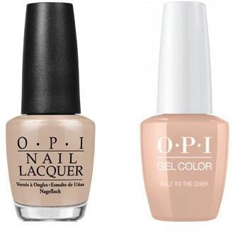 OPI - Gel & Lacquer Combo - Pale to the Chief