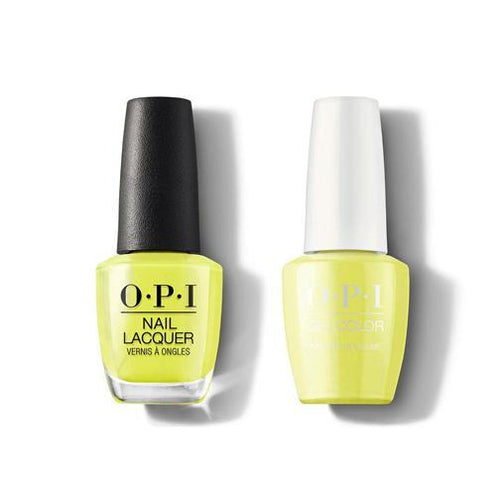 OPI - Gel & Lacquer Combo - PUMP Up the Volume
