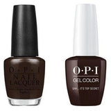 OPI - Gel & Lacquer Combo - Shh...It's Top Secret!