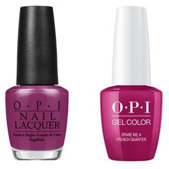 OPI - Gel & Lacquer Combo - Spare Me A French Quarter