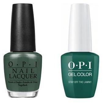 OPI - Gel & Lacquer Combo - Stay Off the Lawn!!