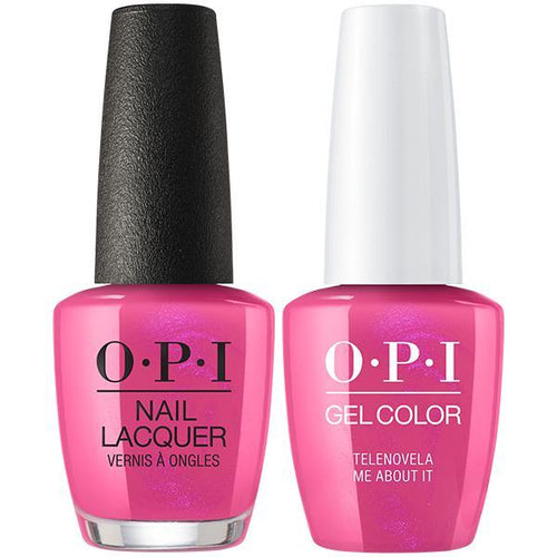 OPI - Gel & Lacquer Combo - Telenovela Me About It