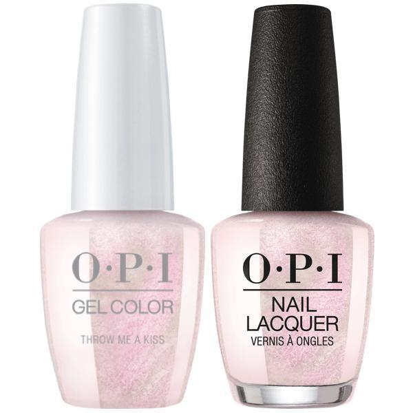 OPI - Gel & Lacquer Combo - Throw Me a Kiss
