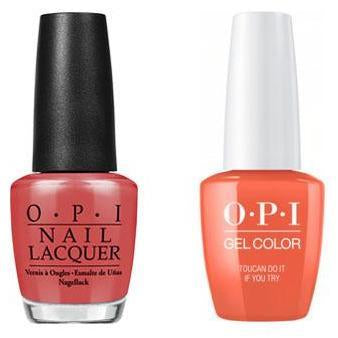 OPI - Gel & Lacquer Combo - Toucan Do It If You Try