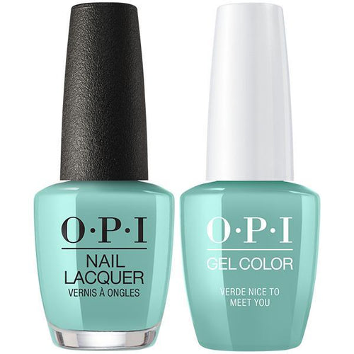 OPI - Gel & Lacquer Combo - Verde Nice To Meet You