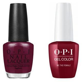 OPI - Gel & Lacquer Combo - We the Female