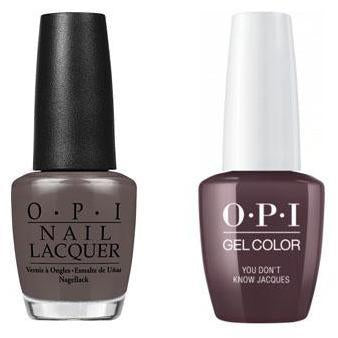OPI - Gel & Lacquer Combo - You Don't Know Jacques