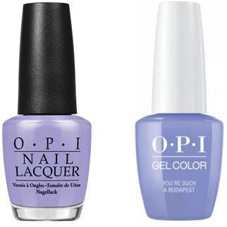 OPI - Gel & Lacquer Combo - You're Such A BudaPest
