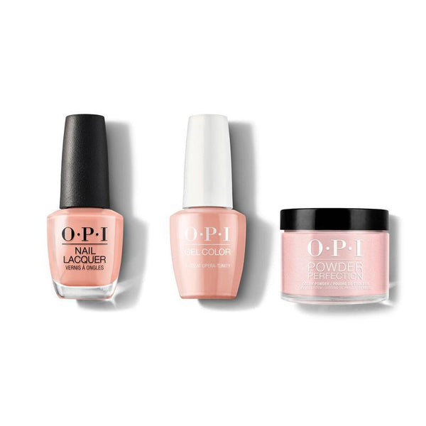 OPI - Gel, Lacquer & Dip Combo - A Great Opera Tunity