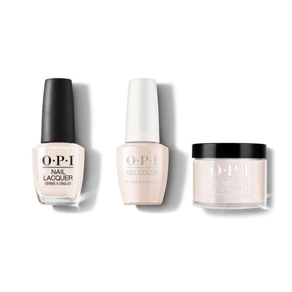 OPI - Gel, Lacquer & Dip Combo - Be There in a Prosecco