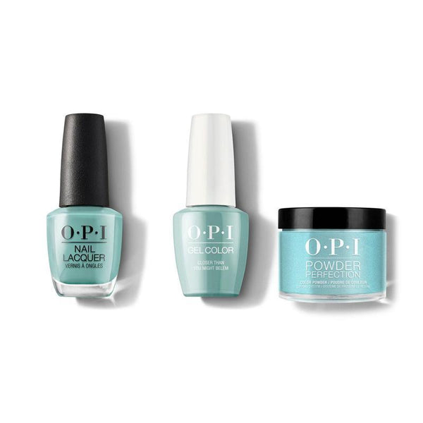 OPI - Gel, Lacquer & Dip Combo - Closer than you might Belem