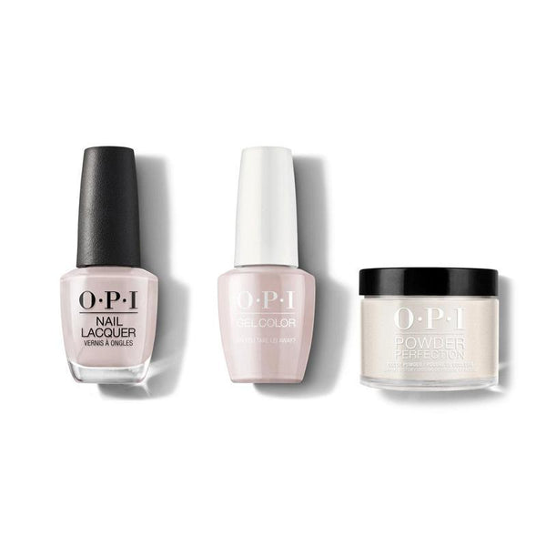 OPI - Gel, Lacquer & Dip Combo - Do you take Lei Away?