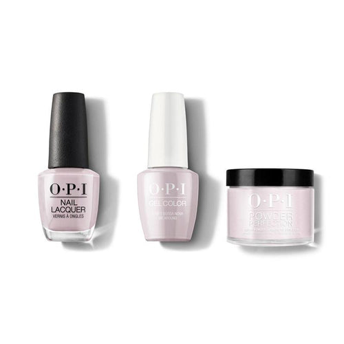 OPI - Gel, Lacquer & Dip Combo - Dont Bossa Nova me Around