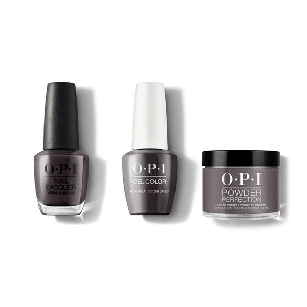 OPI - Gel, Lacquer & Dip Combo - How Great is your Dane?