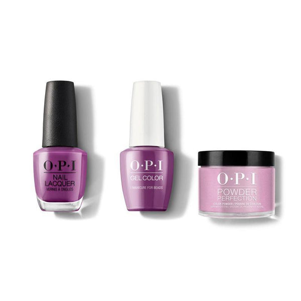 OPI - Gel, Lacquer & Dip Combo - I Manicure for Beads