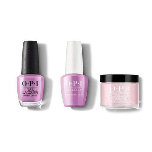 OPI - Gel, Lacquer & Dip Combo - One Heckla of a Color!