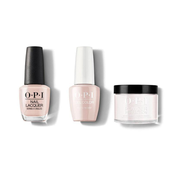 OPI - Gel, Lacquer & Dip Combo - Pale to the Chief