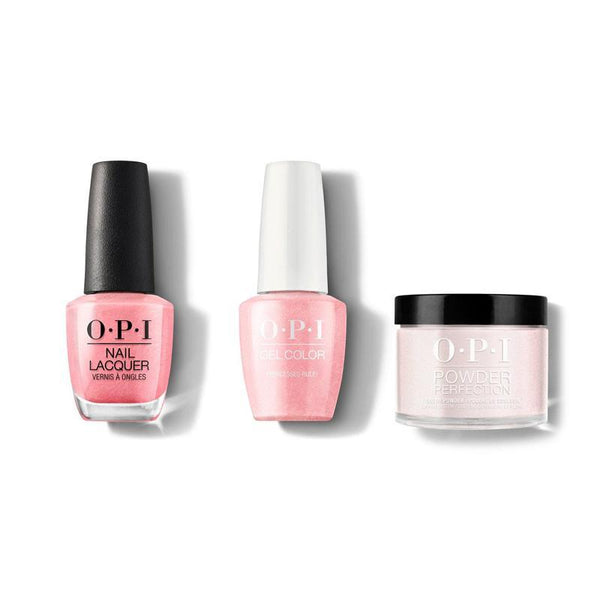 OPI - Gel, Lacquer & Dip Combo - Princesses Rule