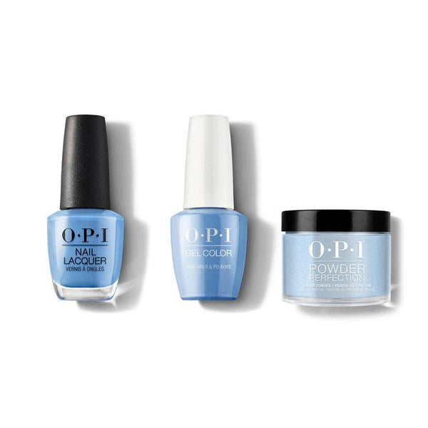 OPI - Gel, Lacquer & Dip Combo - Rich Girls & Po-Boys