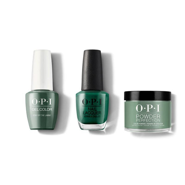 OPI - Gel, Lacquer & Dip Combo - Stay off the Lawn!!
