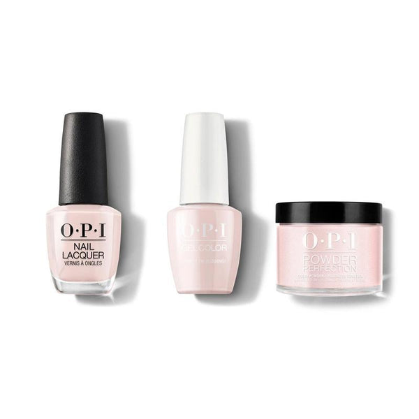 OPI - Gel, Lacquer & Dip Combo - Stop It I'm Blushing!
