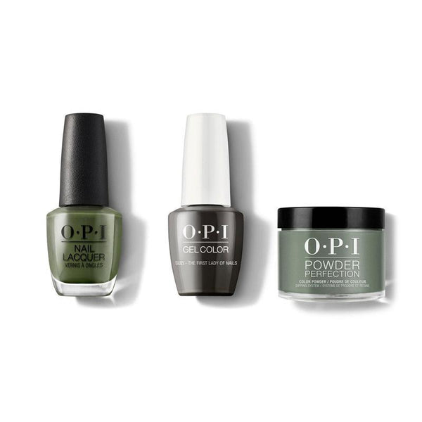 OPI - Gel, Lacquer & Dip Combo - Suzi the First Lady of Nails