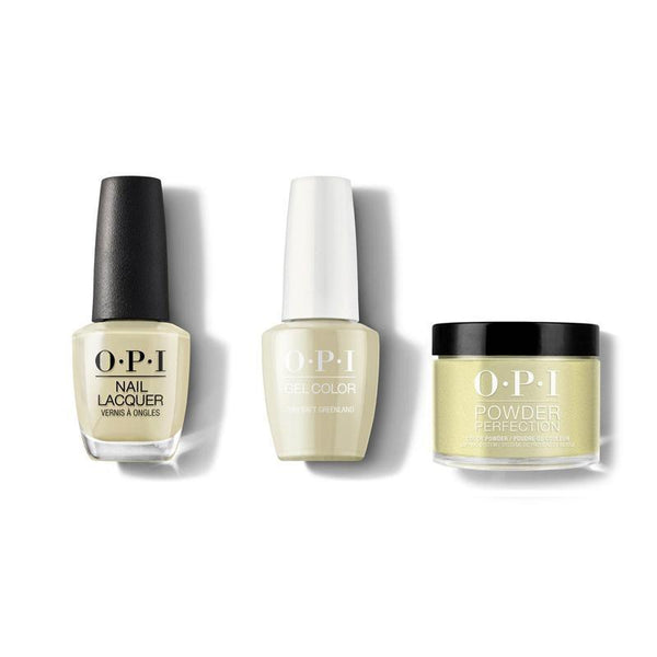 OPI - Gel, Lacquer & Dip Combo - This Isn't Greenland