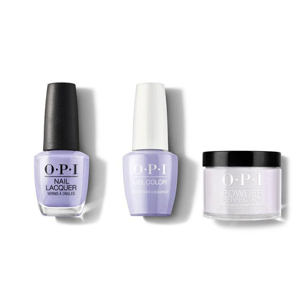 OPI - Gel, Lacquer & Dip Combo - You're such a Budapest