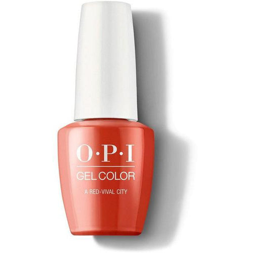 OPI GelColor - A Red-vival City 0.5 oz - #GCL22
