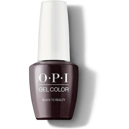 OPI GelColor - Black To Reality 0.5 oz - #GCHPK12