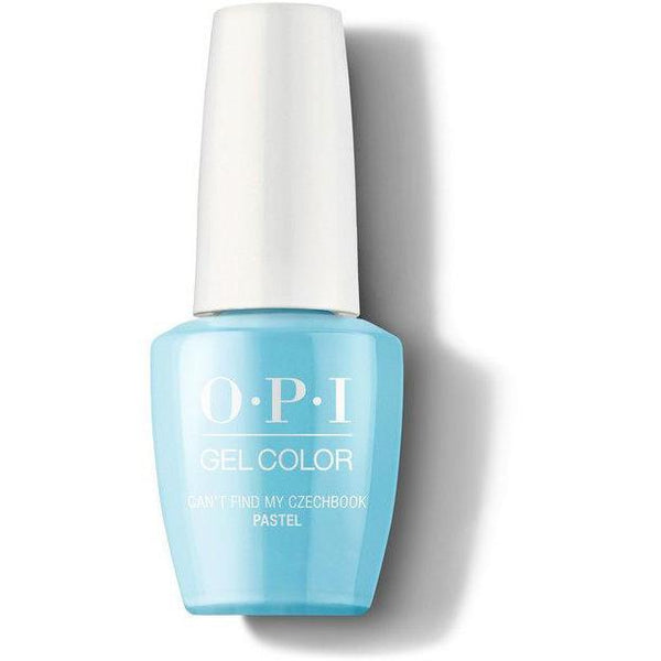 OPI GelColor - Can't Find My Czechbook (Pastel) 0.5 oz - #GC101
